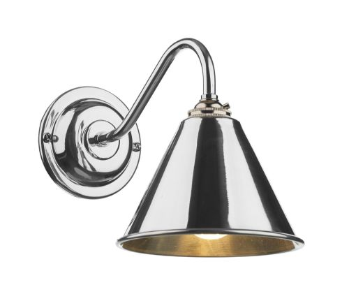 London single wall light in polished chrome LON0750 (7-10 day delivery)